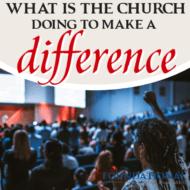 What Is the Church  Doing to Make a Difference?