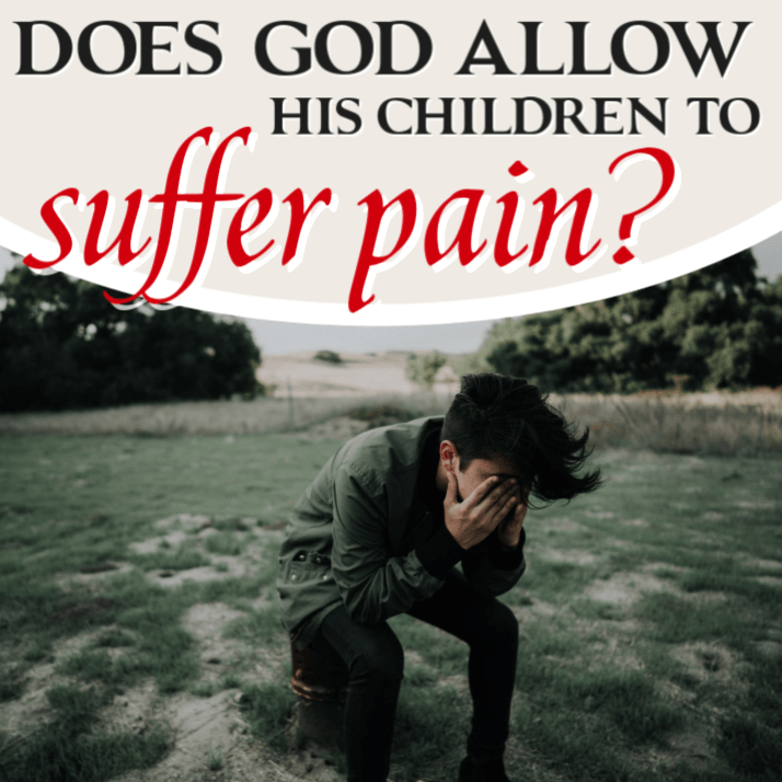 To god children suffer why allow does Why does