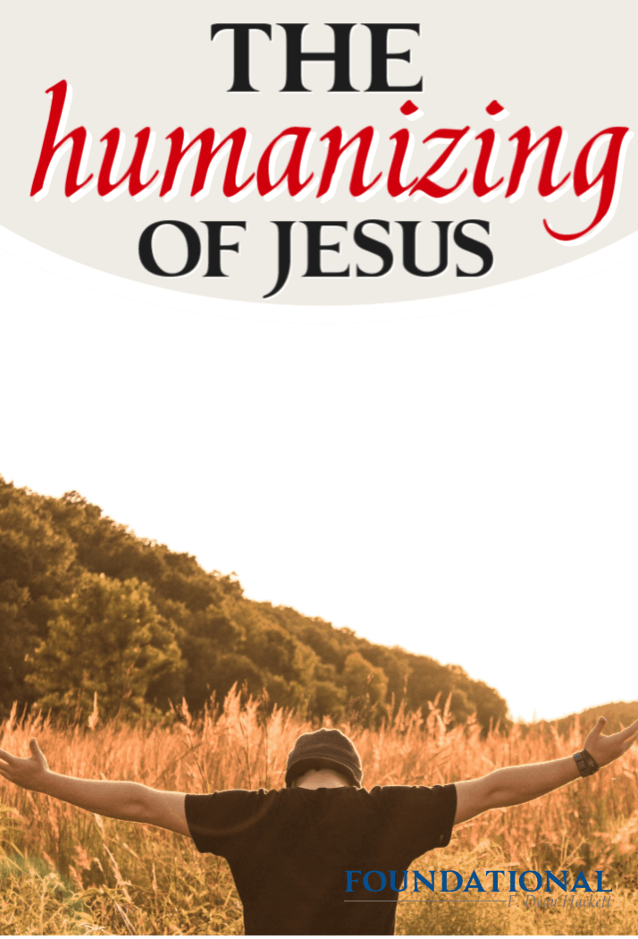Today's culture and modern church has been humanizing Jesus. He is portrayed more human than divine, and here is why it has been Satan's plan all along. #Foundational #Jesus #Bible #DaVinci Code