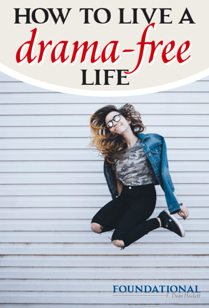 If you're tired of living in constant stress, anxiety and drama, check out my 6-part course No Mo' Drama and learn to live a drama-free life. #Foundtional #peace #drama #eCourse #podcast