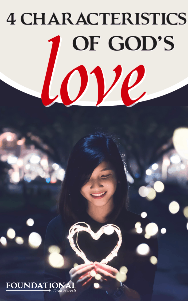 We know the 4 Greek words for us, but here how God expresses His love to us through His perfect, Agape love and how that impacts our Christian living. #Foundational #love #podcast