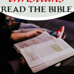 Fewer than half of Americans read the Bible once a week, and many of them for all of the wrong reasons. Here are wrong reasons people read the Bible. #Foundational #bible #readthebible #quiettimes