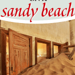 house filled with sand